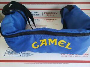 Vintage Joe Camel Cigarettes Canvas 6-Pack Beer Bag / Pool Stick Holder CLEAN