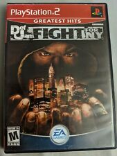 Def Jam: Fight for NY ps2, Black Label read description!! case+game disc only!!