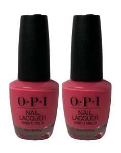 2 PACK OPI Nail Lacquer NEW + 60-  Colors Full Size Full Variety