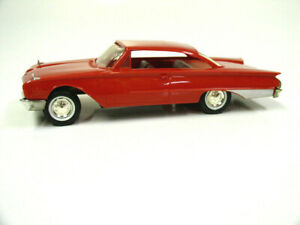 Vintage 1960 AMT Red Ford Starliner 2 Door Hardtop Promo Friction Car