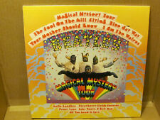 Rare Vintage 1988 Beatles Magical Mystery Tour LP Small Capitol Label Near Mint