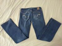 American Eagle Outfitters Jeans Denim Slim Boot 0 Pants