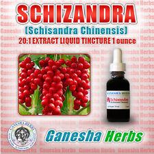 SCHIZANDRA (SCHISANDRA CHINENSIS) 20x EXTRACT LIQUID TINCTURE 1 oz HIGH POTENCY