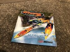 Sega Dreamcast Hydro Thunder PAL Manual ONLY