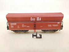X-63215Fleischmann piccolo Spur N Güterwagen Erz IIId,eine Kupplung defekt