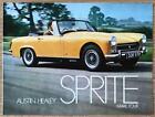AUSTIN HEALEY SPRITE MARK FOUR Car Sales Brochure Apr 1970 #2691/A