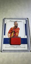 2018 National Treasures Treasured Threads  Andres Iniesta # 20/99 relic Spain