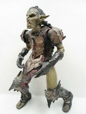 Lord of the Rings Moria Orc Action Figure Figurine 2001 NLP Marvel Ent 6""