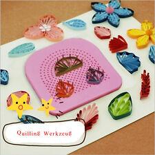 Origami Papier Quilling Unterlager Messbogen Schablone Stecknadeln Werkzeug