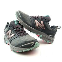 New Balance Women's 412v3 Trail Shoes Gray with Pink