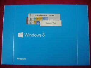 Microsoft Windows 8 x64  64 Bit DVD Full English Vers MS WIN  8 =NEW=