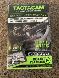 BRAND NEW Tactacam Solo Hunter Package w/ Stabilizer & Mounts & WIFI TA-S-BC
