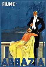 Holiday Art Abbazia Travel  Poster Print