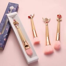 1 pc Makeup Brush Bamboo Soft Synthetic Hair Collection Random Color Box Powders