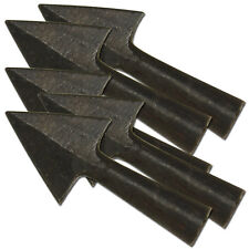 Anglo Saxon Iron Warfare Medieval Renaissance 5 piece Set Triangle Arrowheads