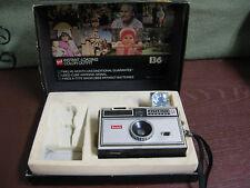 Kodak Instamatic 104 Camera w/Flash Cube & Original Box 136XF