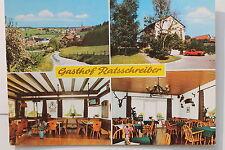17377 Foto AK W-6933 MUDAU OT Steinbach Gasthof Ratsschreiber bad. Odenwald 1978