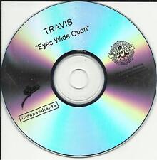 TRAVIS Eyes Wide Open RARE TST PRESS PROMO DJ CD Single