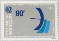 French Polynesia Polinesia 1978 254 c160 ITU Telecommunication ad antenna MNH