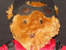 NEW SNOW BOARD X GAMES LIZ CLAIBORNE SKI BUM BEAR PLUSH GOGGLES STUFFED ANIMAL