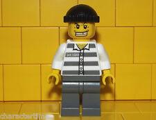 Lego City Thief / Crook / Robber Minifigure NEW