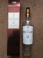 The MACALLAN 12 Year Old Highland Single Malt Scotch Whisky Bottle & Box