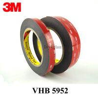 3M VHB 5952 black Double-sided Acrylic Foam Tape Automotive length 3 Meter (Roll