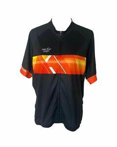 Men's 2XL Bontrager Shut Up Legs Full Zip Short Sleeve Bicycle Jersey Tshirt