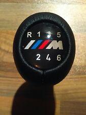 BMW M POWER M Sport 6 Velocità Stick Manuale Pomello del cambio in vera pelle nuovo con scatola