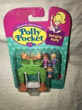 1996 Bluebird Polly Pocket * FUN AT THE SWINGS/Swinging Pretty * MOC/MINT/NEW