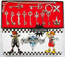 KINGDOM HEARTS SET 12 COLLANE CORONA SORA KEYBLADE 2 II necklace riku 3 cosplay