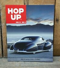 HOP UP MAGAZINE V11 4 HOT ROD CUSTOM BOOK 1932 FORD ARDUN FLATHEAD VTG 40 MERC
