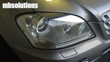 Pair Mercedes Benz Chrome Eyelid Decals M Class 2005-2011 W164 ML350 ML500 ML320