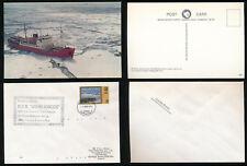 ANTARCTIC SOUTH GEORGIA SHIP JOHN BISCOE 1981 BIOLOGICAL SURVEY SCOTIA SEA + PPC