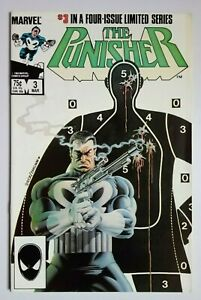 The Punisher #3, Steven Grant, Mike Zeck, Marvel Comics, 1986, 1st Print.