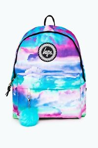 New Hype Backpack Unisex Rucksack School Bag New SS20 Hype Print Quick Dispatch