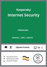 Kaspersky Internet Security 2019, 2 Geräte, 1 Jahr Download Lizenzschlüssel - Deutsch