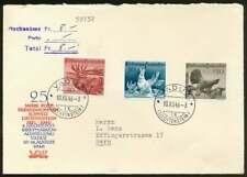 Liechtenstein Nr. 249-251 auf Ersttagsbrief/FDC, Jagd 1946 (69330)
