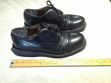 GH BASS & CO Men's Leather Heritage Collection Oxford Shoes Sz 10M Black