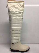 Tretorn Harriet Women's White Winter Boot Size 5M