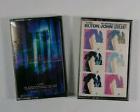 2 Lot Vtg. Cassette Elton John GH Vol.III '79-'87(New) and Leather Jackets(Used)