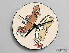 Funny Hot Dog - Kitchen Wall Clock