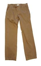 ETIQUETA NEGRA Men's Cotton Casual Pants Color: Khaki Brown Sz: Small