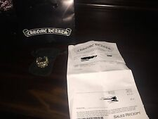 Chrome Hearts Ring Double Floral Cross Size 11 Authentic with Receipt! MINT!