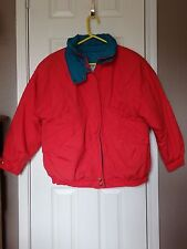 Casual Club Red Mens Winter Jacket Size L