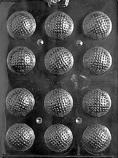 S051 3D Golf Balls Chocolate Candy Soap Molds
