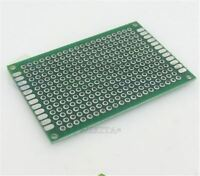 5Pcs Double Side Prototype Pcb Universal Bread Board Tinned 4X6 Cm 4 X 6 FR4 cf