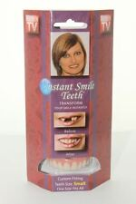 Instant Smile Teeth SMALL DELUXE TOP VENEERS Fake Cosmetic Smile Dental Makeover