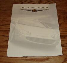 Original 1998 Chrysler Concorde Foldout Sales Brochure 98