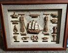 Nautical Rope Knots Naval Maritime Sailor In Shadow Box